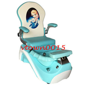 Stupendous Details About Elsa Anna Kid Pedicure Chair Nail Salon Massage Chair Mini Spa Chair Frozen Gmtry Best Dining Table And Chair Ideas Images Gmtryco