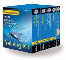 MCITP Self-Paced Training Kit (Exams 70-640, 70-642, 70-643, 70-647): Windows S