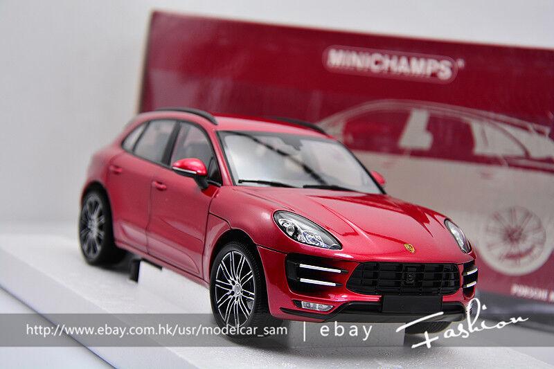 oferta especial Minichamps 1 1 1 18 Porsche Cayenne Macan Turbo Rojo  tienda de venta