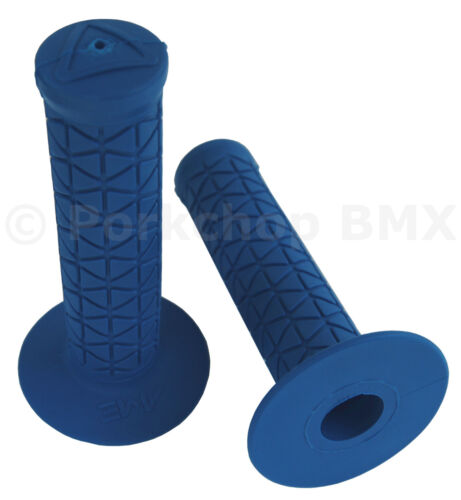 BLUE *MADE IN USA* AME old school BMX Tri bicycle grips