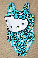 Hello Kitty 2 2t Swim Bathing Suit Swimsuit 1 Pc Cheetah Dillards Free Ship