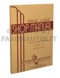 1934-1935 Cadillac and 34 LaSalle Shop Manual V8 V12 V16 Repair Service Book