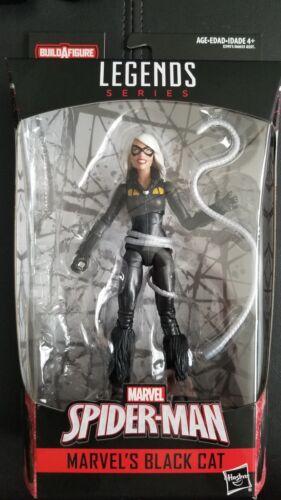 Marvel Legends Spider Man Black Cat action figure loose Kingpin BAF Wave
