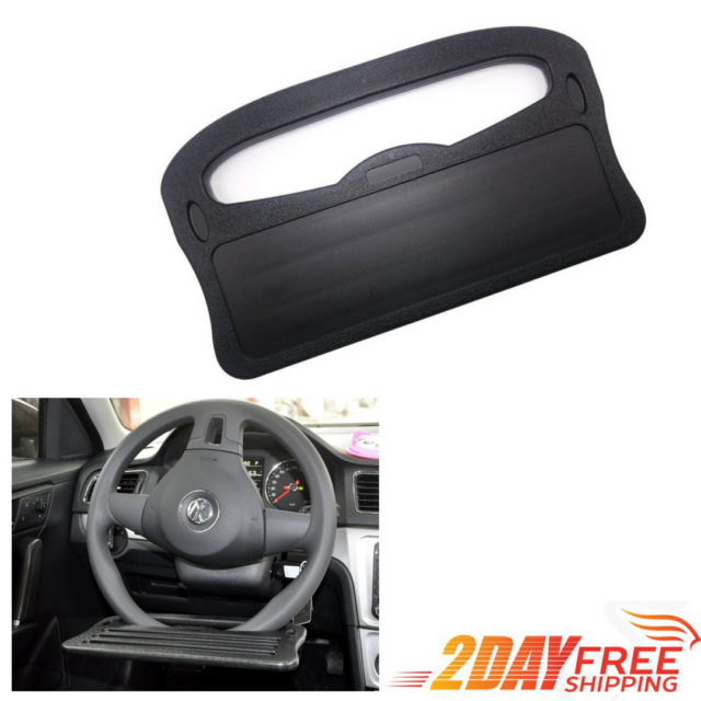 Car Steering Wheel Desk Seat Table Laptop Stand Mount Holder Tray