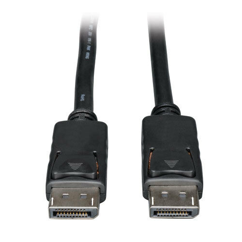 Black 6 Foot Display Port to Display Port HD Cable
