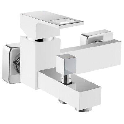 Niedrigerer Preis Mit Wannenarmatur Wandmontage Badarmatur Badewanne Deante Wannenbatterie Weiß/chrom Waschtisch