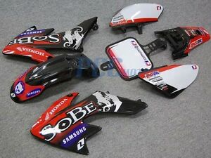 SOBE-GRAPHICS-DECALS-PLASTIC-KIT-FOR-HONDA-CRF50-XR50-SDG-SSR-9-DE03