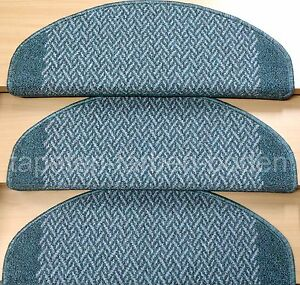 Stufenmatten-gruen-grau-15-teiliges-Set-NEU