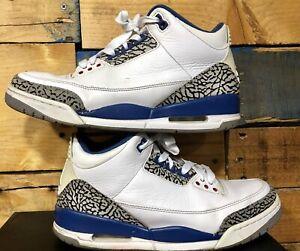 """d660e308d48707 Nike Air Jordan 3 Retro """"True Blue"""" 2011 Style   136064-104 Size 9.5 ..."""