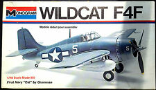 "Monogram Kit No.6798, ""1st NAVY CAT"",GRUMMAN F4F WILDCAT, -PARTS MINT & COMPLETE"