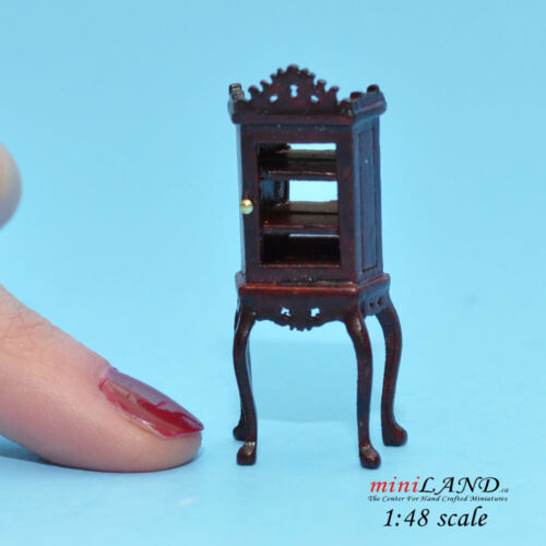 "1:48 1//4/"" quarter scale Etagere china display Top quality MH dollhouse miniature"