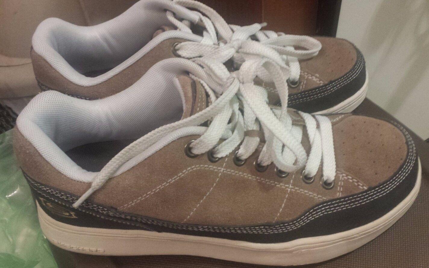 Skechers Men's Boy's Sport 50065 Khaki & Charcoal Athletic Shoes Comfortable Cheap women's shoes women's shoes