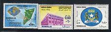 SOMALIA 1964 SOMALI CREDIT BANK/BUILDING/ARCHITECTURE/GLOBE/MAP/ARM/ANIMALS/WILD