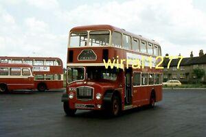 6x4 Bus colour photograph Central SMT Lodekka RHN946F, Ex United