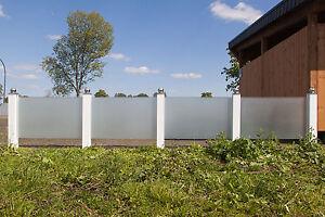 sichtschutz glas: garten & terrasse | ebay, Garten und Bauen