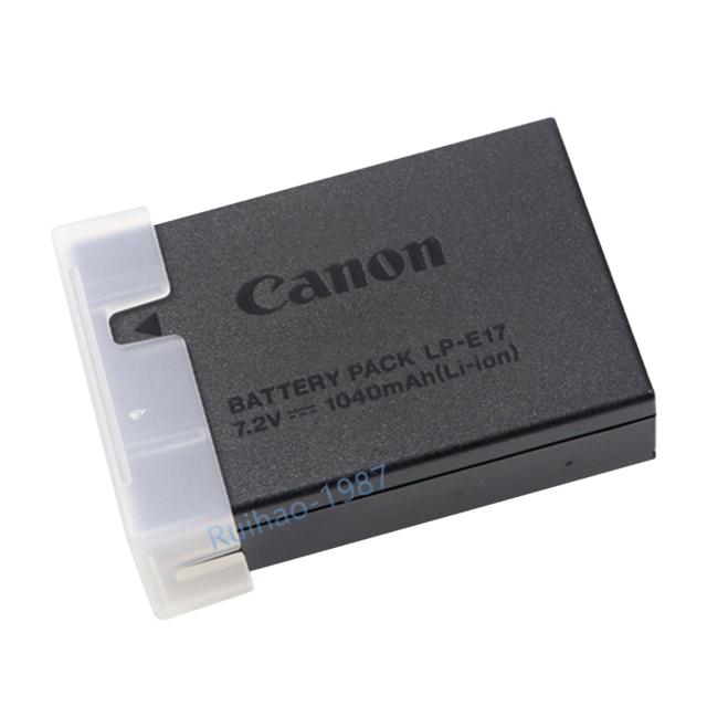Genuine Original Canon LP-E17 Battery For EOS 750D 760D M3 Kiss X8i T6i LC-E17E
