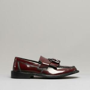 Blakeseys-SCOOTER-Mens-Casual-Dress-Real-Leather-Tassel-Slip-On-Loafers-Oxblood