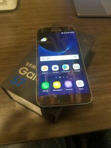 Samsung-Galaxy-S7-SM-G930V-32GB-Black-Unlocked-AT-amp-T-Bell-Chatr