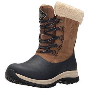 Copieux Muck Boot Company Arctic Femme Dentelle Premium Mi Couleur: Otter/bleu Marine Cœur - 201-afficher Le Titre D'origine
