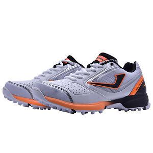 c21b4f4a9cf8 Details about Jazba SkyDrive 100 Orange & White Mens Rubber Cleats Cricket  Shoes