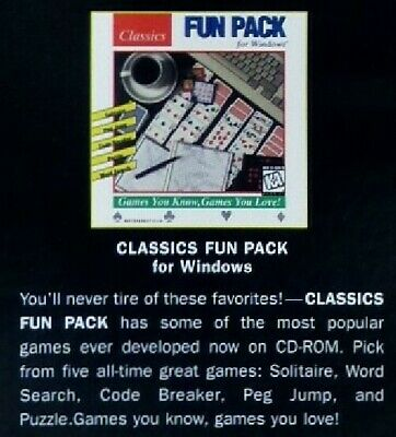 CLASSICS FUN PACK FOR WINDOWS 1996 +1Clk Windows 10 8 7 Vista XP Install |  eBay