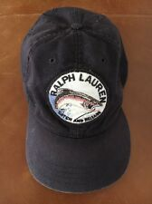Polo Ralph Lauren Vintage Catch And Release Cookie Hat Cap Strapback USA MADE