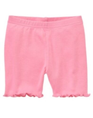 GYMBOREE TEA TIME AFTERNOON PINK BASIC BIKE SHORTS 3 6 12 18 24 2T 3T 4T 5T NWT