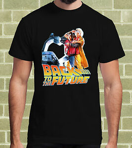 RITORNO-AL-FUTURO-BACK-TO-THE-FUTURE-FILM-CULT-T-SHIRT-per-Uomo-e-Bambino