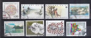 UNO-Genf-gestempelt-Jahrgang-1984