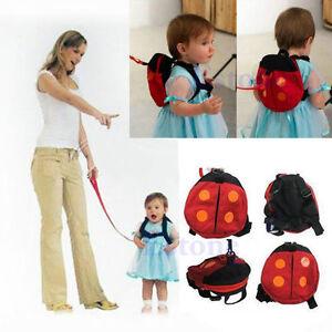 Backpack-Baby-Kids-Toddler-Bat-Walking-Safety-Harness-Rein-Walker-Strap-Bag-L1Y
