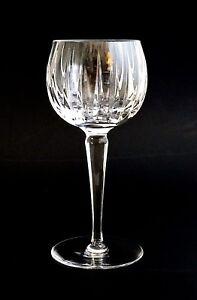 ASTRAL-039-S-PEERAGE-Crystal-WINE-Glass-HOCK-Round-Bottom-Vertical-Line-Cut-Stemware