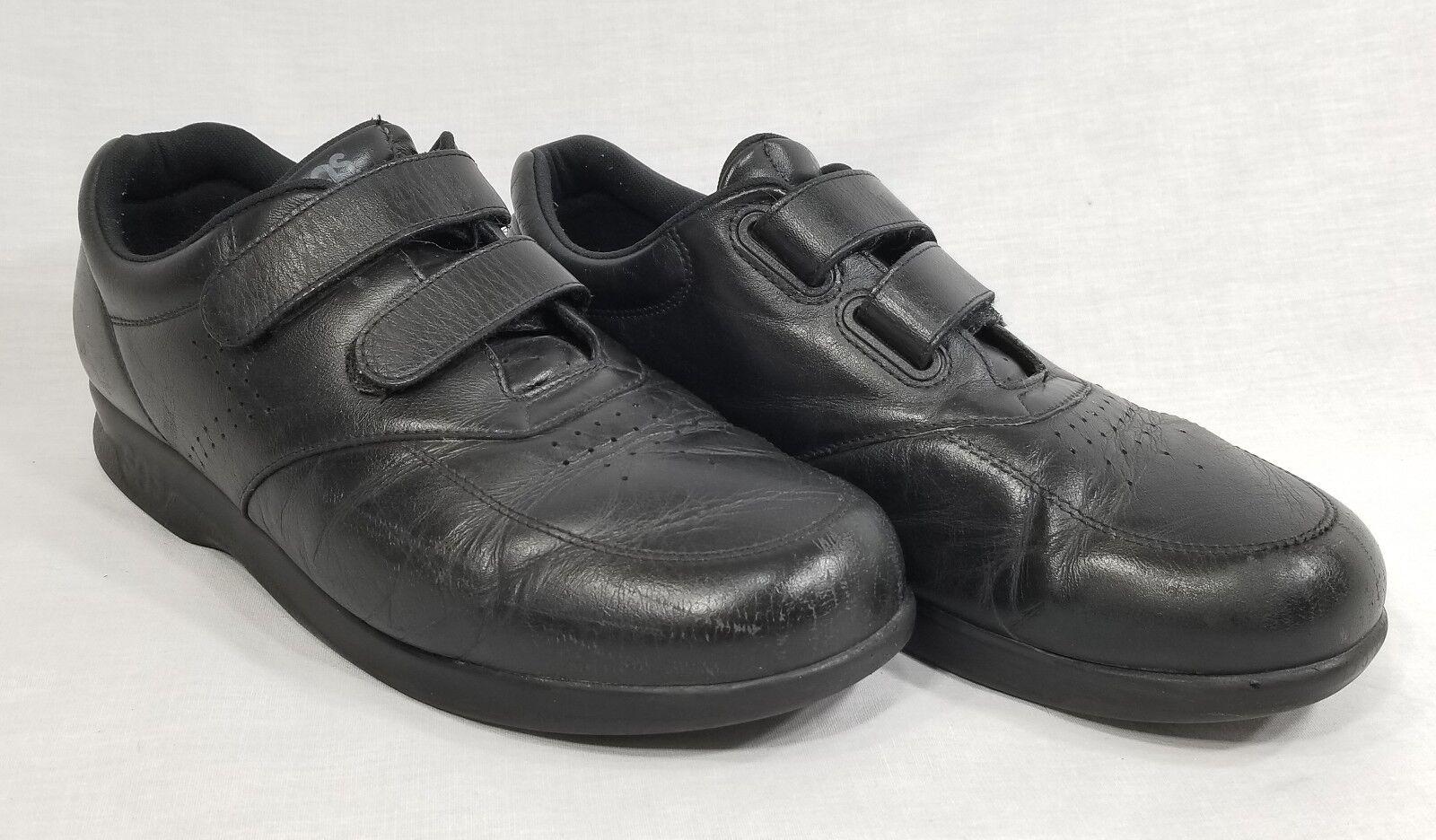 SAS Men's Time Out Velcro Black Orthopedic Sneaker Shoes Men's 11.5 M