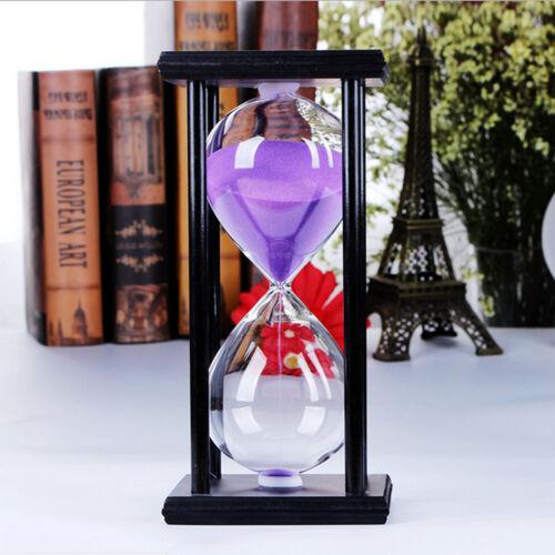30Minutes Retrore Hourglass Counter Sandglass Sand Timer Clock Home Decoration