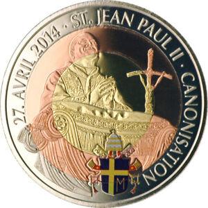 100-Francs-Kamerun-2011-Johannes-Paul-II-TriMetal