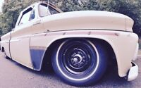 Classic Chevy Truck Blazer Wheel Dress Up Kit Bullet Hub Caps Lug Nuts 7/16-18