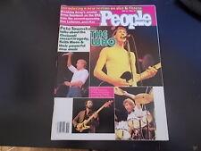The Who, Dina Merrill - People Magazine 1980