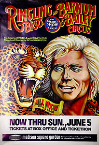 Ringling-Bros-and-Barnum-Bailey-Circus-Original-Promotional-Poster-from-1970