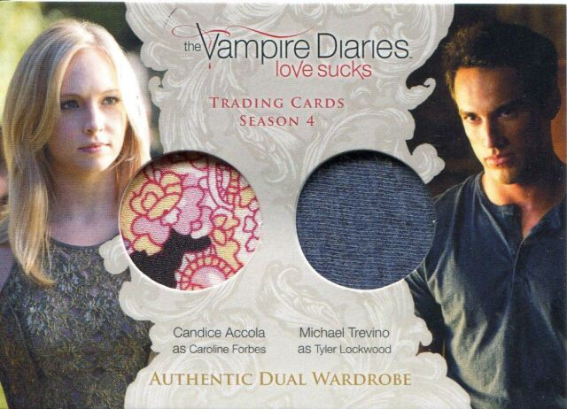 Vampire Diaries Season 4 Dual Wardrobe Card Dm6