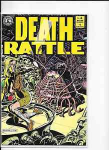 DEATH RATTLE #4 2ND SERIES KITCHEN SINK COMICS 1986 HORROR, NM.   eBay