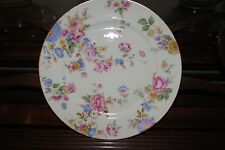 """Rosenthal Ivory Bavaria China The Sunray Luncheon Plate 8.5"""" Floral"""