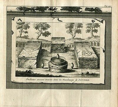 Art Sevilla Graves Old Ones Found In The Fauxburgs Engraved By Pieter Van Good For Energy And The Spleen