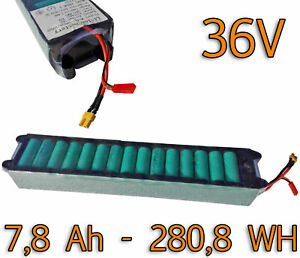 Battery-Pack-36v-7-8-Ah-al-litio-ricambio-per-Monopattino-elettrico-Xiaomi-Viron