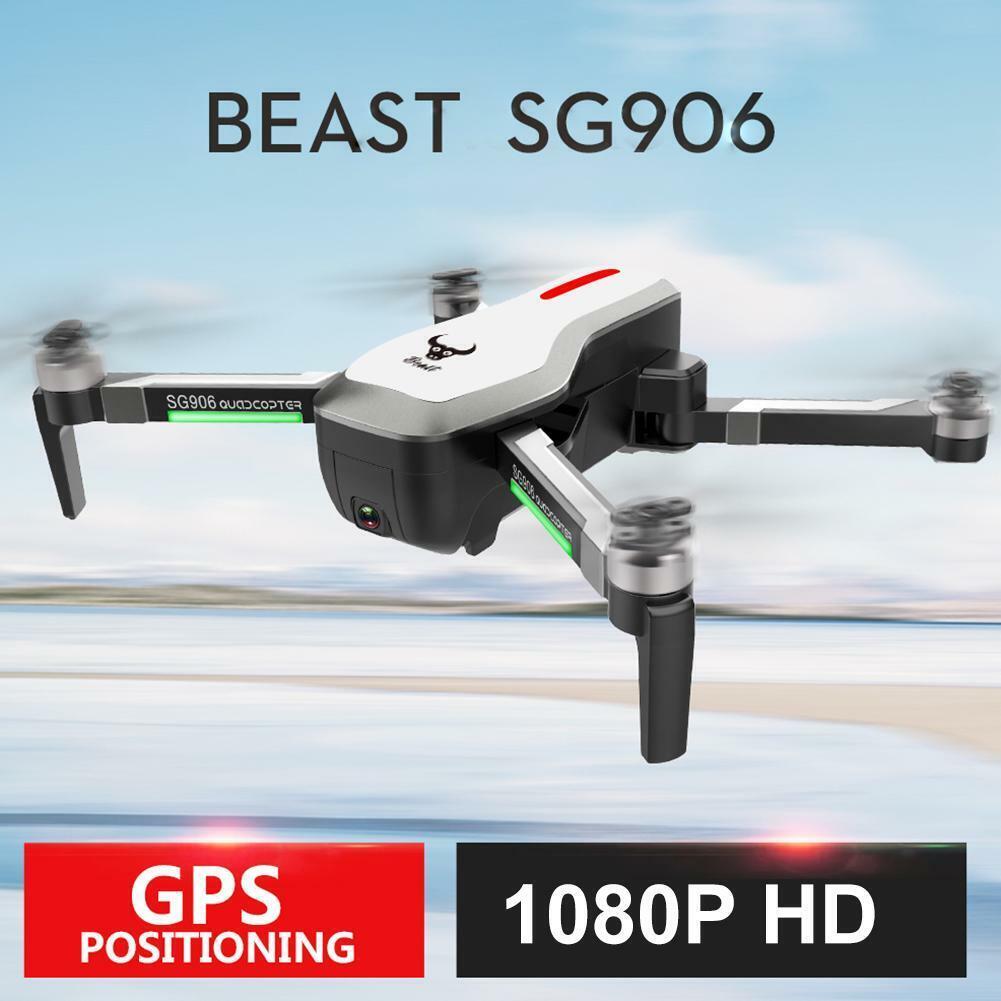 SG906 RC Drone 1080P HD Wi-fi FPV Cámara Dual GPS Cuadricóptero RC Regalo de flujo óptico
