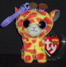 45f02380e18 Darci Giraffe Ty Beanie Boo Clip MWMTS Limited Edition Collectible Gift