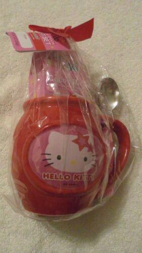 Hello Kitty Mug /& Spoon Gift Set With Nestle Hot Cocoa Mix