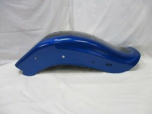HARLEY-DAVIDSON-FXSTC-PACIFIC-BLUE-PEARL-w-VIVID-BLACK-REAR-FENDER-59914-08CPW