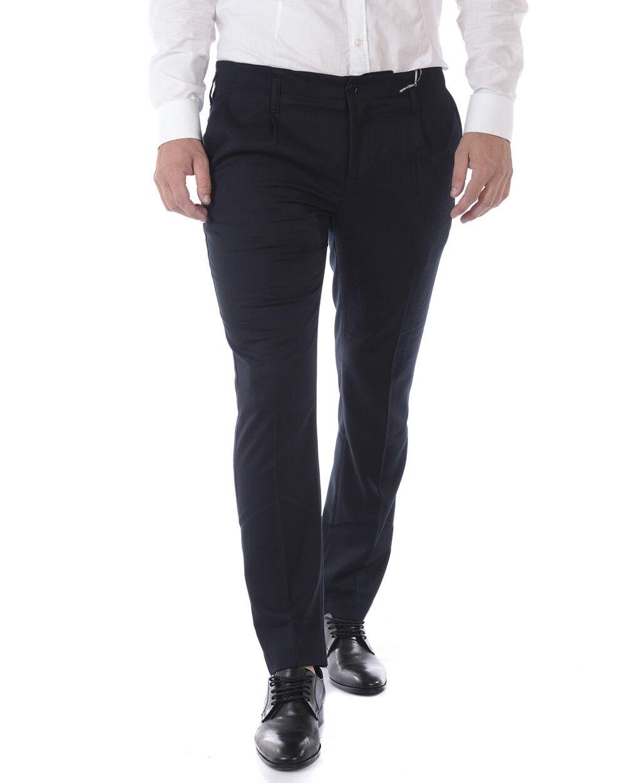 Pantaloni Daniele Alessandrini Jeans Trouser hombres azul  P3428N7863706 23  promociones