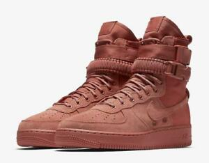 timeless design 8443f cf9de Image is loading NIKE-SF-AF1-864024-204-DUSTY-PEACH-CLAY-