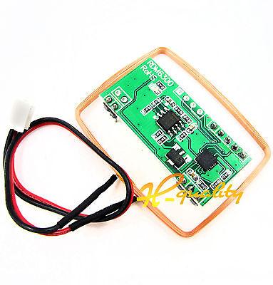 125K EM4100 RFID Card Reader Module RDM6300 ID RF Module UART Output Arduino