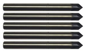 """1//2/"""" 4 FLUTE 120 DEGREE CARBIDE CHAMFER MILL TiALN COATED"""